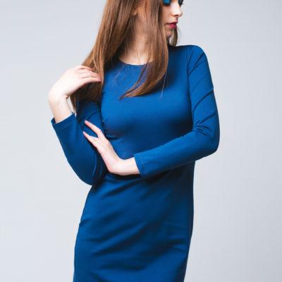 Дизайнерское базовое платье серенити