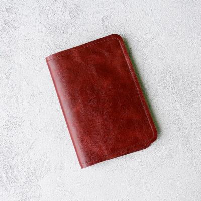 Обложка для паспортов Passport Cover - Коньяк