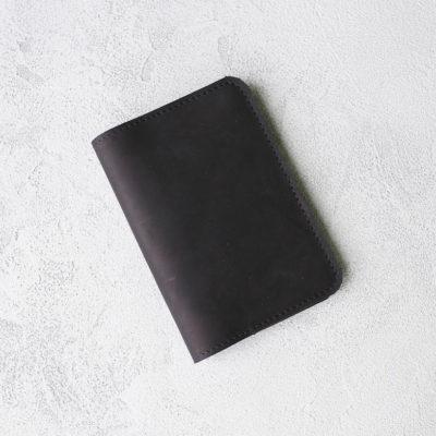 Обложка для паспортов Passport Cover - Угольный воск