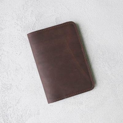 Обложка для паспортов Passport Cover - Шоколадный воск