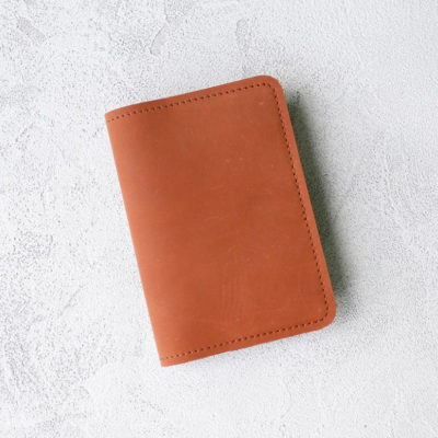 Обложка для паспортов Passport Cover - Рыжий воск