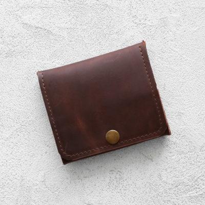 Портмоне Mini Wallet - Шоколадный пуллап