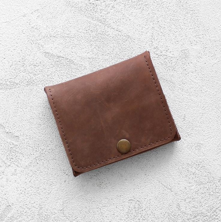 5921d8d399ca Портмоне Mini Wallet - Шоколадный крейзи хорс купить в Москве с ...