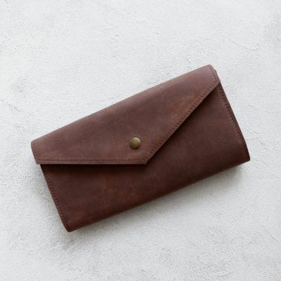 Портмоне TravelHolder - Шоколадный крейзи хорс