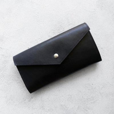 Портмоне TravelHolder - Чёрный + лиловый