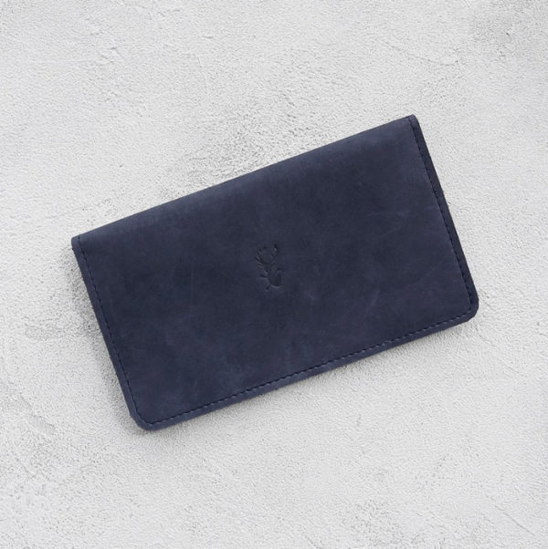 Портмоне Cover - Синий воск