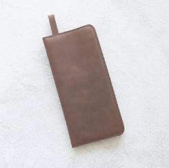 Портмоне ThinPurse - Шоколадный крейзи хорс
