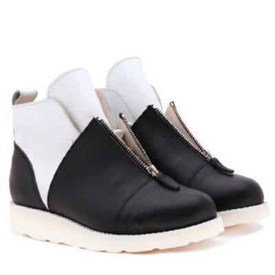 Ботинки Babochki Shoes Gloss B&W morflex
