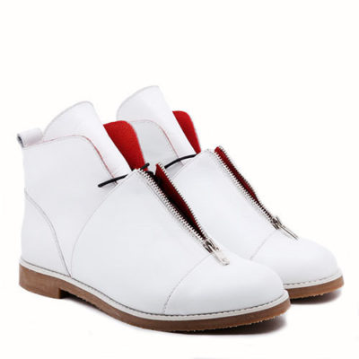 Ботинки Babochki Shoes White