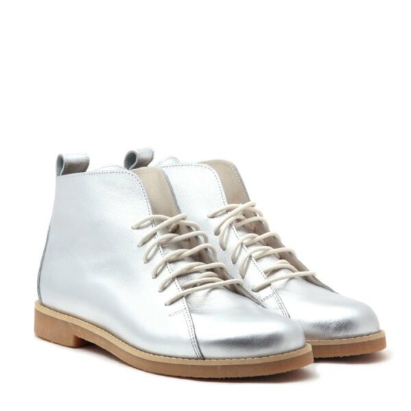 Ботинки HighShoes Silver