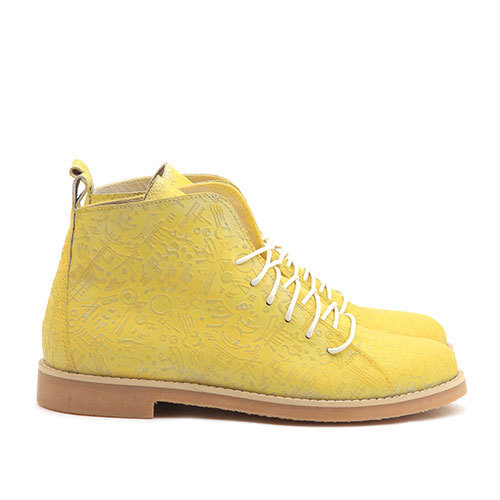 Ботинки HighShoes Totem Yellow