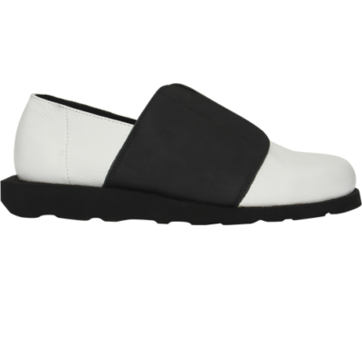Туфли Slip-on Fly Black and White