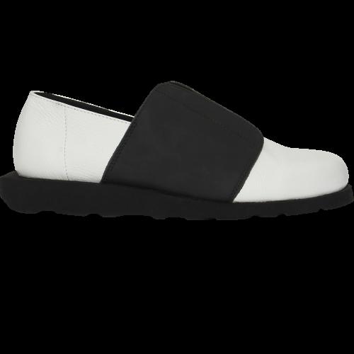 Туфли Slip-on Fly Black and White