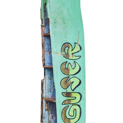 Стеллаж из лодки сквозной Гусэр