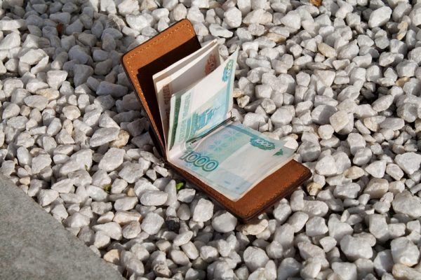 Зажим для денег Деп