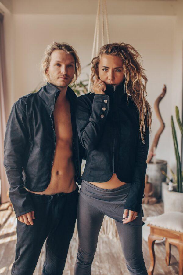 Мужская куртка из джинсы