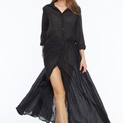 Платье из тонкого хлопка