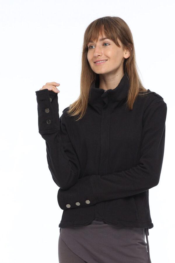 Толстовка-куртка из футера
