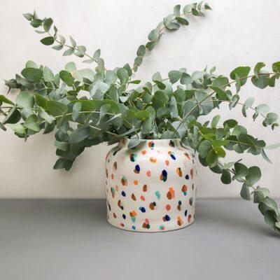 Большая ваза Бочонок