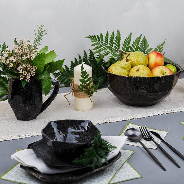 Большой салатник коллекция Граненный